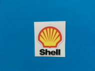 SHELL motorsport sticker/decal x2